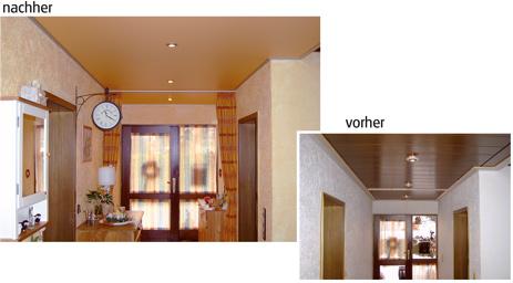 spanndecken bad windsheim kaufmann hofmann neue decke strt sie ihre alte decke alte dunkle zimmerdecke neue moderne zimmerdecke deckenrenovierung - Moderne Zimmerdecken